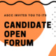 ASCC Candidate Open Forum