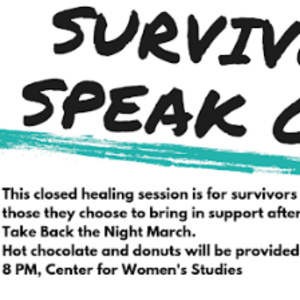 Survivor Speak Out
