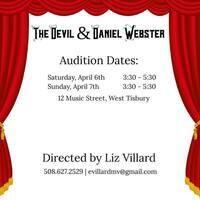 Open Auditions: The Devil & Daniel Webster