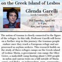 Refugees' European Traumas on the Greek Island of Lesbos