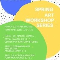 English & Cultural Studies Spring Art Workshop Series