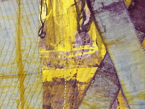 On the Edge: An Exhibition by SAQA Oregon Artists
