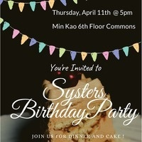 Systers Birthday Party