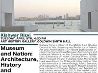 Visual Culture Colloquium - Kishwar Rizvi
