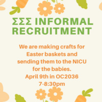 Sigma Sigma Sigma Informal Recruitment