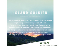 Global Awareness Film & Discussion Series showing of Island Soldier