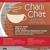 Chai Chat: Take a break! Connect with others!