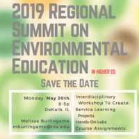 2019 Regional Summit on Environmental Education