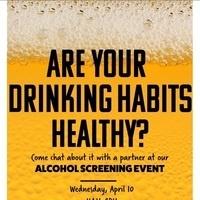 Alcohol Screening Event