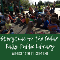 Storytime with the Cedar Falls Public Library