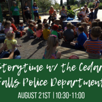 Storytime with the Cedar Falls Police Department