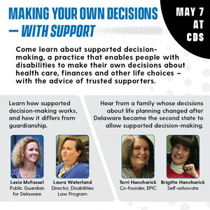 Lunchtime Learning: Making your own decisions—with support