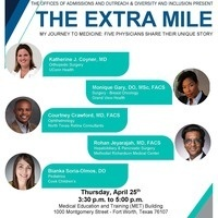 The Extra Mile My Journey to Medicine: Five Physicians Share Their Unique Story