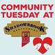 Community Tuesday at Shadowbrook Restaurant