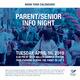 Parent/Senior Info Night