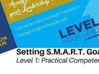 **CANCELLED-Medallion Workshop: Setting S.M.A.R.T. Goals