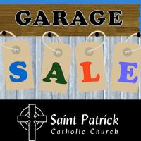 St. Patrick Church Garage Sale
