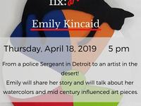 Culture Fix- Art Talk: Emily Kincaid