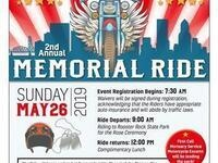 Second Annual Memorial Ride