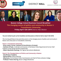 Boston College Ireland Business Council Breakfast