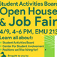 Student Activities Board Open House