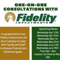 One-on-One Consultation with Fidelity