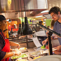 Dining Hall Opens for New Students