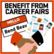 Benefit from Career Fairs