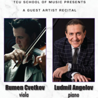 Guest Artist Series: Rumen Cvetkov, viola. Accompanied by Ludmil Angelov, piano.