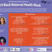 2019 Black Maternal Health Week