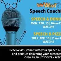 Speech Coaching