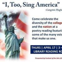 """I, Too, Sing America"" ~Langston Hughes"