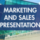 Marketing and Sales Presentation