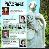Distinguished Faculty Awards for Distinction in Teaching and Distinction in Mentoring