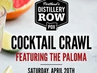 Distillery Row Paloma Cocktail Crawl