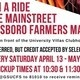 Catch a Ride to the Farmer's Market!