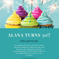 Tiles and Treats: ALANA Founders Week Kickoff