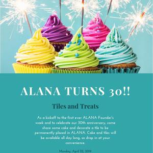 Tiles and Treats: ALANA Founders Week Kickoff
