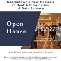 Health Informatics & Data Science Open House