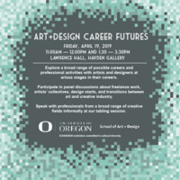 School of Art + Design Career Futures