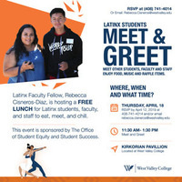 Latinx Students Meet and Greet