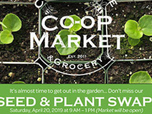Seed and Plant Swap at the Catonsville Cooperative Market
