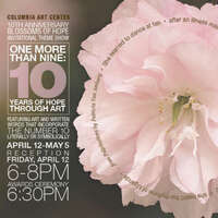 One More than Nine--10 Years of Hope Through Art--Blossoms of Hope Invitational Show