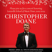 Celebration Concert: Chris Doane