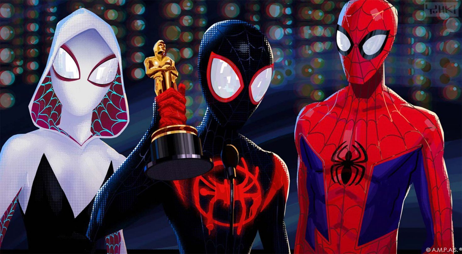 Spider-Man: Into the Spiderverse in 3D!