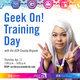 Geek On! Volunteer Training Day with the Cosplay Brigade