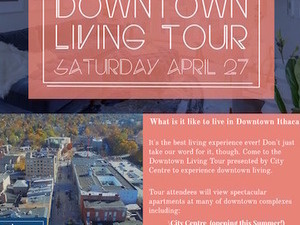 Downtown Living Tour - Ithaca Events