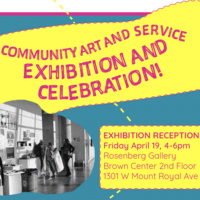 Reception: Community Arts and Service Show