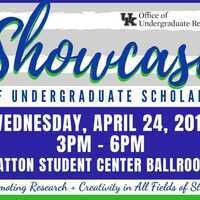 Showcase of Undergraduate Scholars