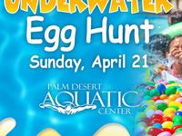 Underwater Easter Egg Hunt
